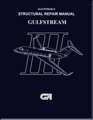 Gulfstream III Aircraft Structural Repair  Manual -