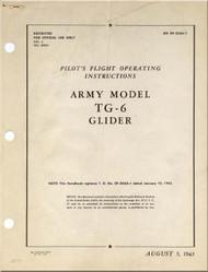 Taylorcraft  TG-6  Aircraft Pilot's Operating  instructions  Manual - 09-35AA-1 - 1943