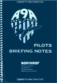Northrop A-9A  Aircraft Pilots Briefing Notes   Manual