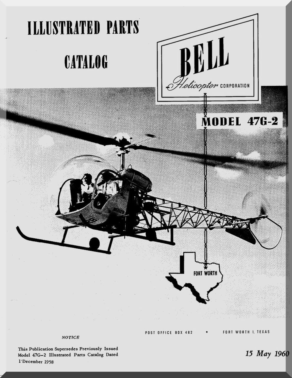 bell helicopter 47 g 2 illustrated parts catalog manual 1960 rh aircraft reports com Agusta Aerospace Agusta Aerospace Corp