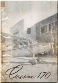 Cessna 170  Aircraft Owners  Manual , 1951 - 1952