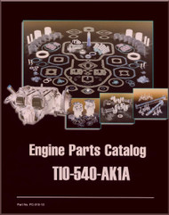 Lycoming TIO-540-AK1A Aircraft Engine Parts Manual   PC-315-13