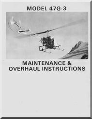 bell helicopter 47 g 2a g 2a1 maintenance overhaul manual 1963 rh aircraft reports com Agusta 109 Grand Agusta Bell 212