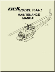 Bell Helicopter 205 A-1  Maintenance  Manual -