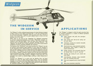 Westland - Sikorsky S.51  Series 2 Widgeon Helicopter Technical Brochure   Manual