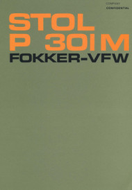 Fokker - VFW  P 301 M Aircraft   Technical Report  Manual -