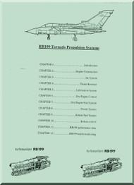 Turbo Union / Rolls Royce   Aircraft Engine Tornado Propulsion Systems Manual