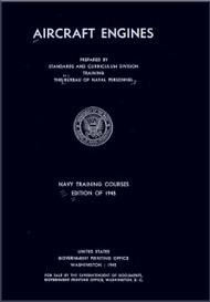 Aircraft Engines  NAVY Training Courses Manual  - 1945 -  NAVPERS