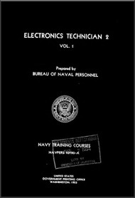 Aircraft Electronics Technician 2   NAVY Training Courses Manual  - 1953- NAVPERS 10190-A