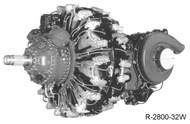 "Pratt & Whitney R-2800 "" Double Wasp "" Aircraft Engine Manuals Bumdle DVD"