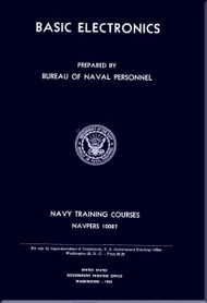 Basic Electricity  NAVY Training Courses Manual  - 1955 -  NAVPERS 10087