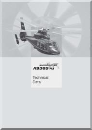 Aerospatiale AS 365 Dauphin 2  Helicopter Data Manual  (English Language )