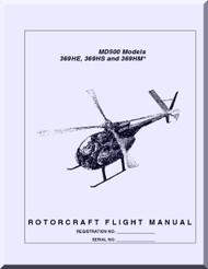 Mc Donnell Douglas  Helicopters  369 HE HS HM Flight  Manual