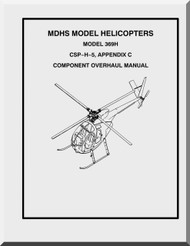 Mc Donnell Douglas  Helicopters  Model  369 H Component Overhaul  Manual