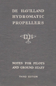 De Havilland Aircraft Propellers Hydromantic  Note for Pilot and Ground Staff Manual