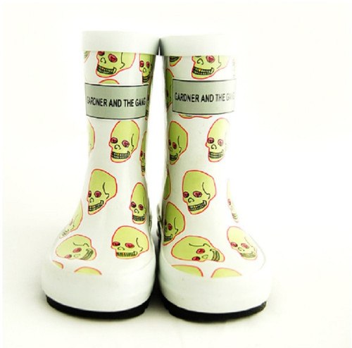 Love Skull Rubber Boots