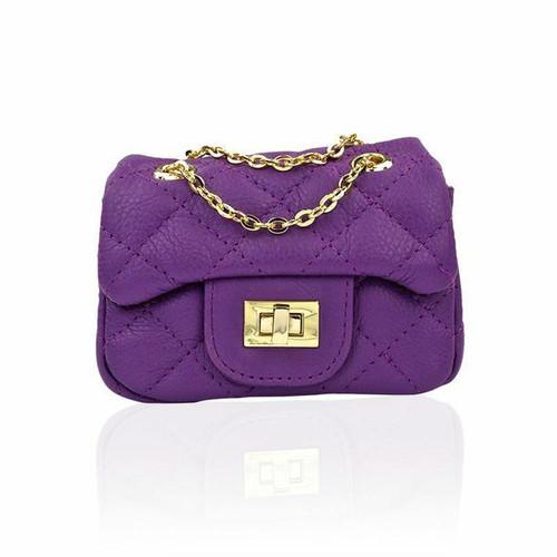 Ava Purple Mini Bag