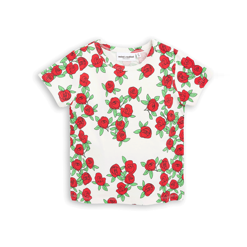 Rose SS Tee Off White