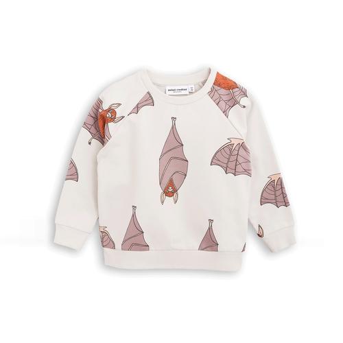 Bat Sweatshirt AOP Light Grey