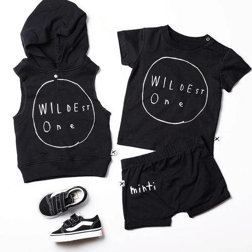 Wildest One Sleeveless Hood