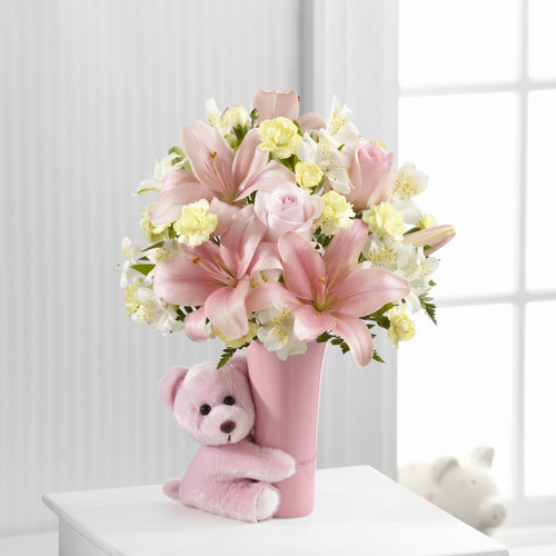 TheBaby Girl Big Hug Bouquet