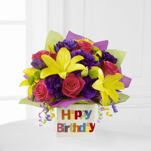 TheHappy Birthday Bouquet