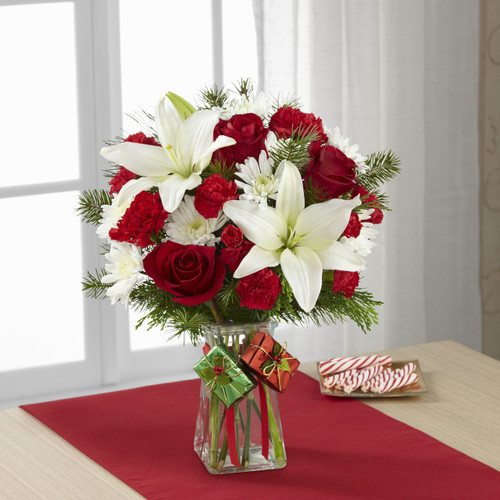 TheJoyous Holiday Bouquet