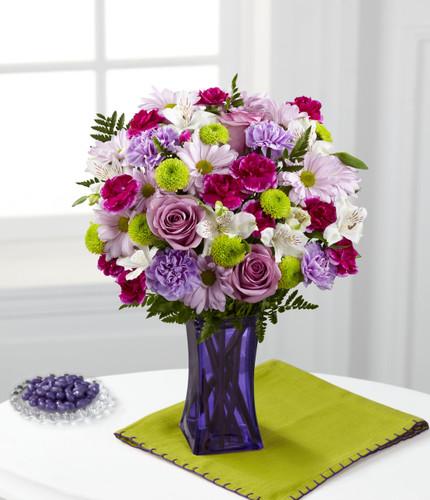 ThePurple Pop Bouquet