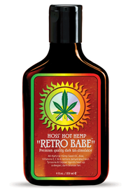 Hoss' Hemp Retro Babe Tanning Lotion 9oz