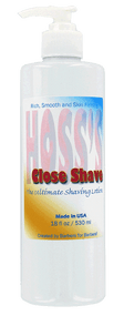 Hoss' Close Shave Saving Cream 18oz