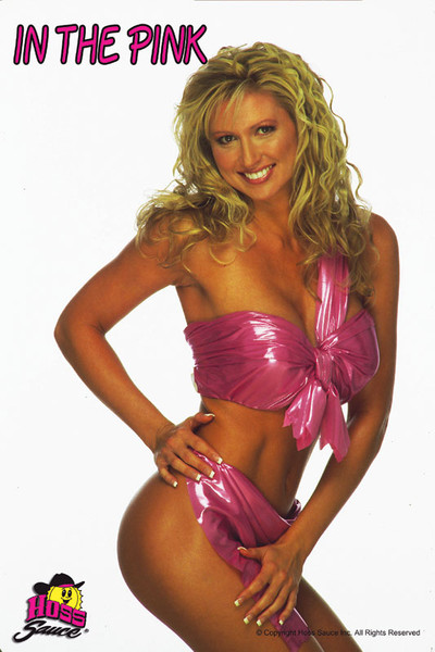 In The Pink Glossy Tanning Salon Wall Poster
