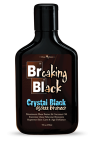 Breaking Black Crystal Black 656XXX Bronzer Tanning Lotion