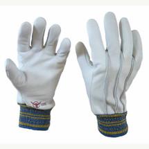 Perfect Gardener Goatskin Gloves with Elastic Wrist
