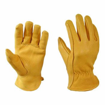 Natural Tan Deerskin Driver Glove with Thinsulate Lining