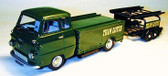 1:43rd Built Model.  Ford 400E Lotus Transporter and Trailer