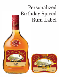 Personalized Appleton Rum Labels