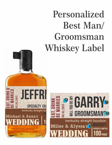 Personalized Whisky Labels (Knob Creek Style)