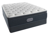 Simmons BeautyRest Silver Offshore Mist Plush Pillow Top Mattress