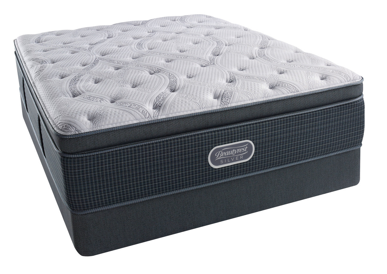 Simmons 174 Beautyrest 174 Silver 174 Comfort Gray Plush Pillow