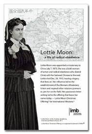 Lottie Moon Photo and Information  - Downloadable Flier