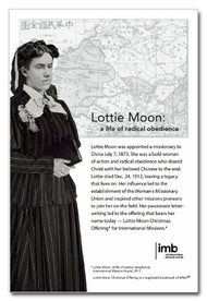 Lottie Moon Photo and Information  - Downloadable Flier