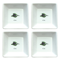 Olive Tapenade Dish - Set of 4