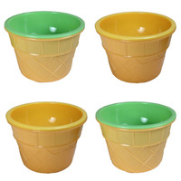 Set of 4 Ice Cream Sundae Cups