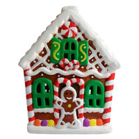 Paint Your Own - Gingerbread House