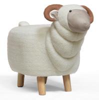 Large Ram Animal Stool