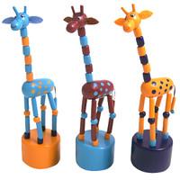 Push Toy Giraffe