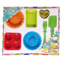 The Little Cook®  10-Piece Silicone Bakeware Set