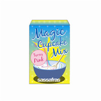 Magic Color Pink Cupcake Mix