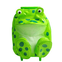 Vinyl Frog Pull-Along Backpacks