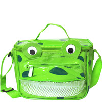 Vinyl Frog Lunch Bag